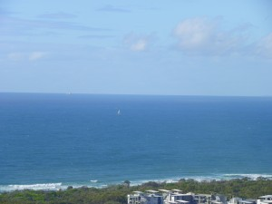 Sailing Boat In The Distance